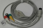 Kabel 5EKG (zatrzask) do kardiomonitora Creative UP7000, PC3000