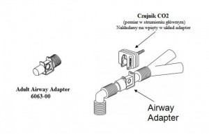 Airway Adapter Respironics 6063 adapter CO2